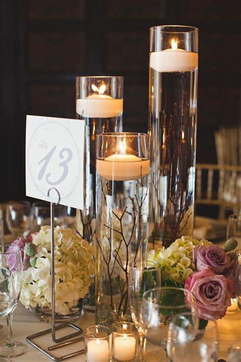fabulous floating candle ideas  weddings wedding