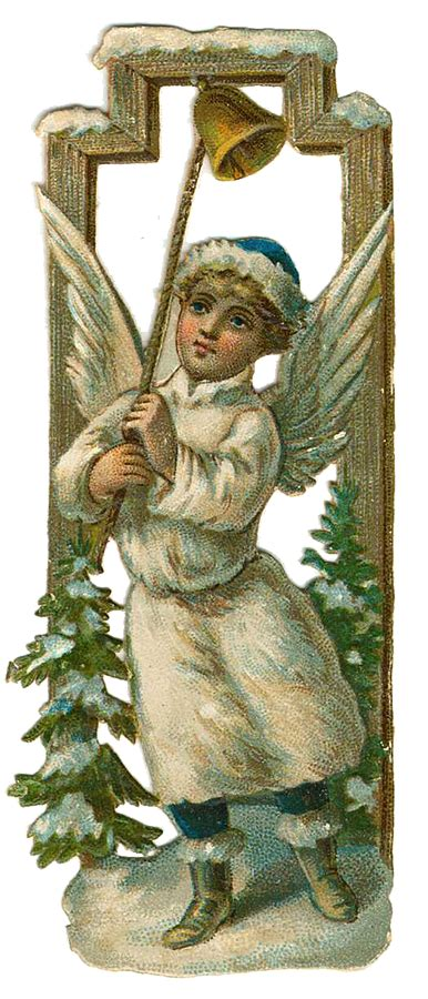 vintage christmas angels clip art christmas angels