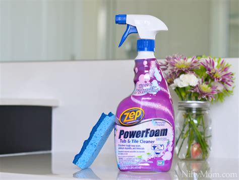 Zep Tub And Tile Cleaner by Keeping A Clean Bathroom Scrubbing Not Required