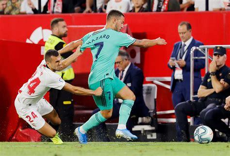 ⚽ يتصدر كورة 365 حالياً. أهم لقطات الفوز الصعب لريال مدريد على إشبيلية بالدوري ...
