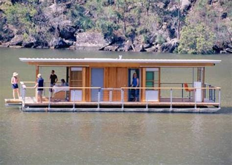 Houseboat Pontoons by Arkiboat Modern Tiny Houseboat On Pontoons Tiny House Pins