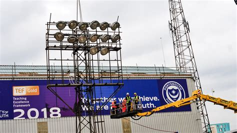 Portsmouth's Fratton Park 'good to go' for Birmingham cup ...