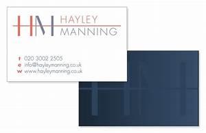 Branding hm business cards for interior designer Annette