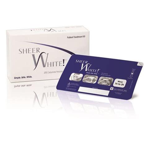 Sheer White Whitening Films, whitening strips, teeth
