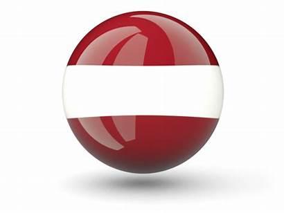 Latvia Icon Sphere Flag Non Commercial Freeflagicons