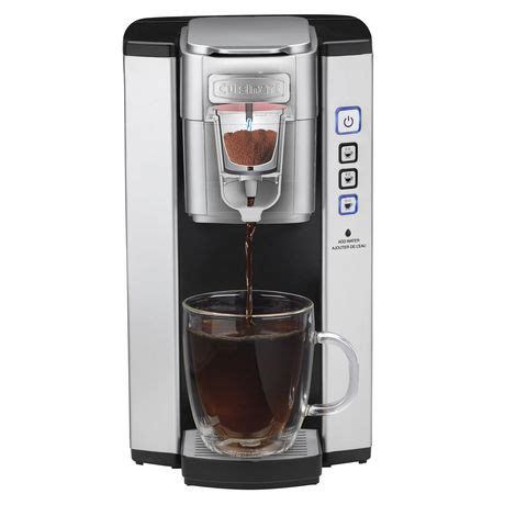 Some days call for a big, tall mug to wake you up and get you going, while other times you may want to brew less in a. Cuisinart Single Serve Coffee Maker Silver SS-5 | Walmart Canada | Walmart Canada