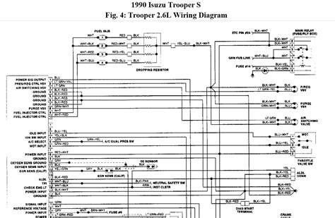 1990 Isuzu Npr Wiring Diagram by Can You Email Me A Diagram For The Entire Injector Harness