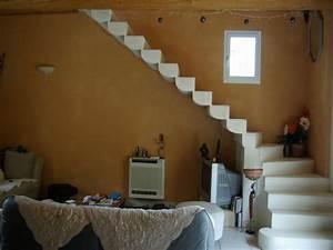 Enduit à La Chaux Sur Placo : enduit de chaux photos de chantiers autour d 39 uz s gard ~ Premium-room.com Idées de Décoration
