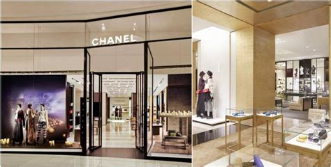 chanel boutiques   world fashion  luxury