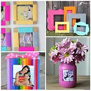 Pics Photos Diy Photo Frames Ideas For Family Pictures DIY Home Decor And Decorating Ideas DIY DIY Hanging Frames Tutorial Tatertots And Jello Family Picture Frame Collage Ideas Frame Collage Idea With