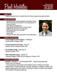 church worship leader resume ministry resume sle