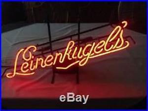 Vintage leinenkugels franceformer neon bar sign