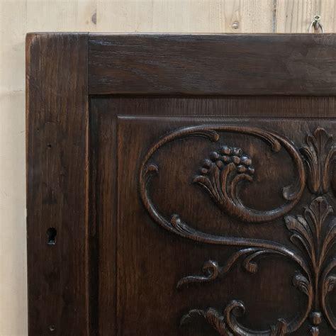 antique decorative carved wood panel inessa stewarts