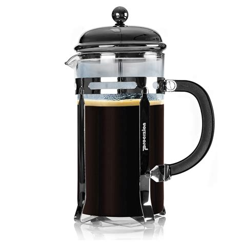 At first glance, brewing coffee using a french press is super easy: Procizion 34oz French Press for Perfect Espresso
