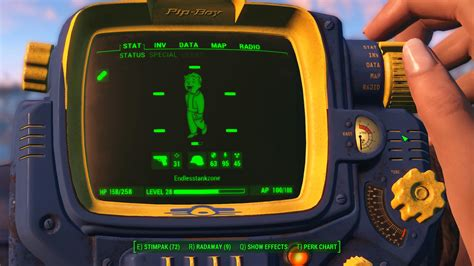 Fallout 4 Pip Boy Wallpaper Vault Tec Branded Pipboy 3000 Fallout 4 Mod Download