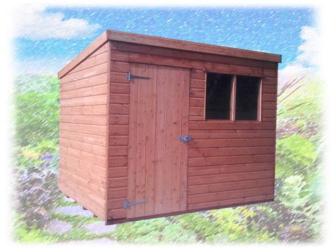 Pent Deluxe Shiplap Shed