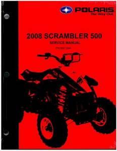 2008 Polaris Scrambler 500 Service Manual