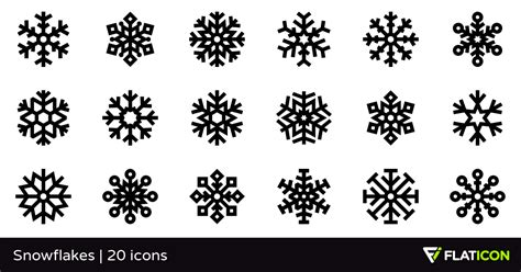 You can copy, modify, distribute and perform the work, even for commercial purposes, all without asking permission. Snowflakes 20 free icons (SVG, EPS, PSD, PNG files)