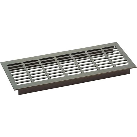 grille aeration chambre grille d 39 aération aluminium itar bricotoo