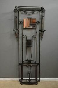 Porte Manteau Deco : porte manteau art deco en fer forg materialism pinterest art deco furniture deco and ~ Teatrodelosmanantiales.com Idées de Décoration