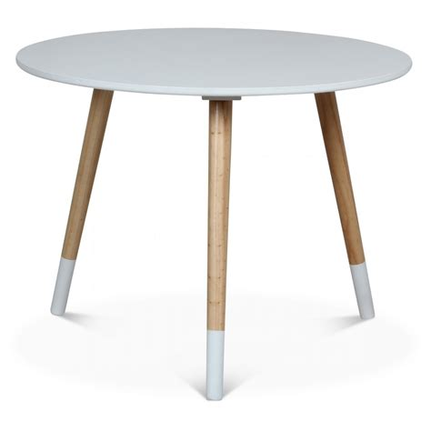 table ronde enfant table scandinave ronde enfant blanc marmaille