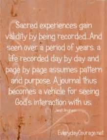 Importance Of Keeping A Journal Quotes
