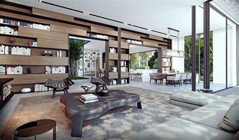 ando studio modern home  luxury apartment renderings