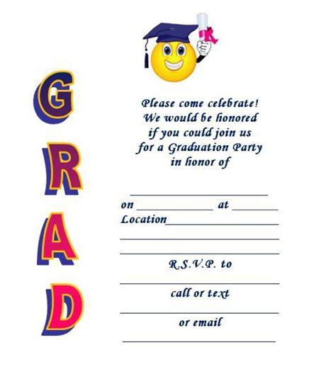 40 free graduation invitation templates ᐅ template lab 892 | graduation invitation templates 26