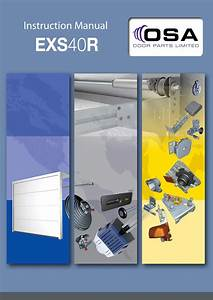 Garage Door Installation Manuals  U00bb Osa Door Parts Limited