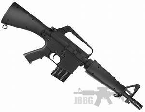 M308 M16 Spring BB Gun | Just BB Guns  Gun