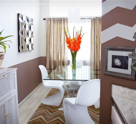 Two Tone Walls   Eclectic   dining room   SVZ Interior Design