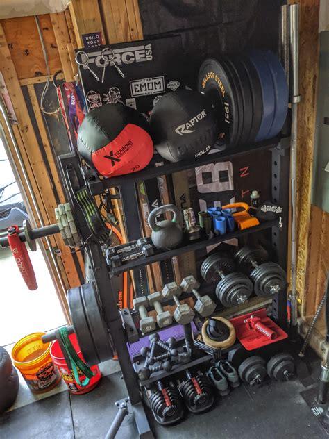 titan storage system   rxd garage gym experiment