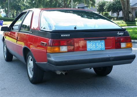 Renault Fuego Turbo For Sale by 1982 Renault Fuego Turbo 35 000 Original For Sale