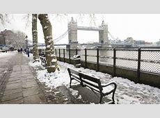 Londres nevado