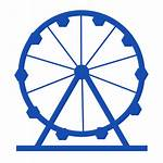 Amusement Icon Park Theme Wheel Holiday Transparent