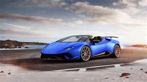 2018 Lamborghini Huracan Perfomante Spyder 6 Wallpaper