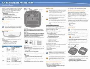 Aruba Networks Apin0103 Wireless Access Point User Manual