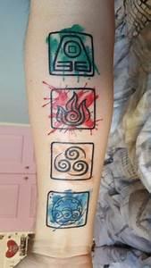 Tatouage 4 éléments : four elements tattoo google search peinture et dessin ~ Nature-et-papiers.com Idées de Décoration