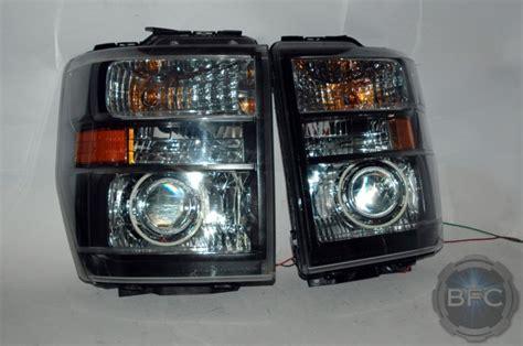 e350 ford van headlight 2008 hid projector retrofit halo package custom blackflamecustoms led