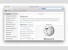 Dictionary software Wikipedia