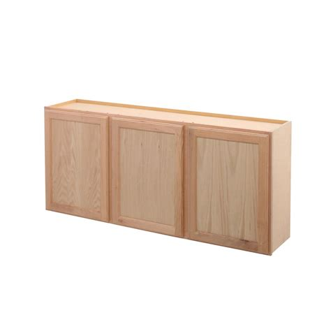 oak kitchen cabinets home depot assembled 54x24x12 in wall kitchen cabinet in unfinished