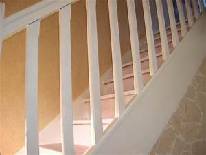 repeindre en blanc 1 escalier lasure et vitrifie 18 messages With peindre rampe escalier bois 0 comment repeindre facilement un escalier en bois