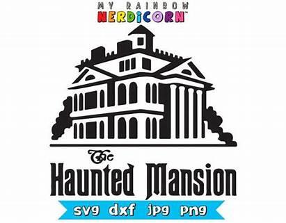 Svg Disney Haunted Mansion Vector Haunt Silhouette