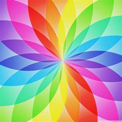 Rainbow Wallpapers Desktop Circles 2048 Ipad Tablet