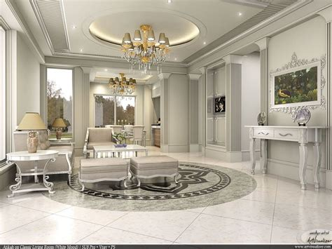 More Classic Interior Designs by Depositphotos Interior Design With A Classic White