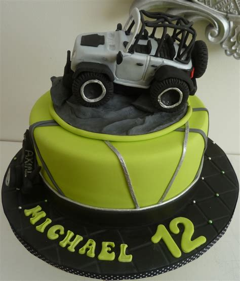 jeep cupcake cake rubicon jeep fondant cake truck is made of rk covered with