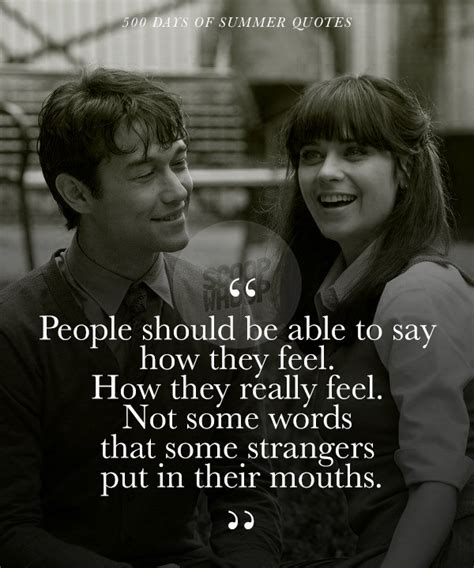 These 21 Quotes From '500 Days Of Summer' Take A Realistic