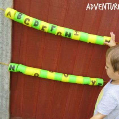 super cool pool noodle activities
