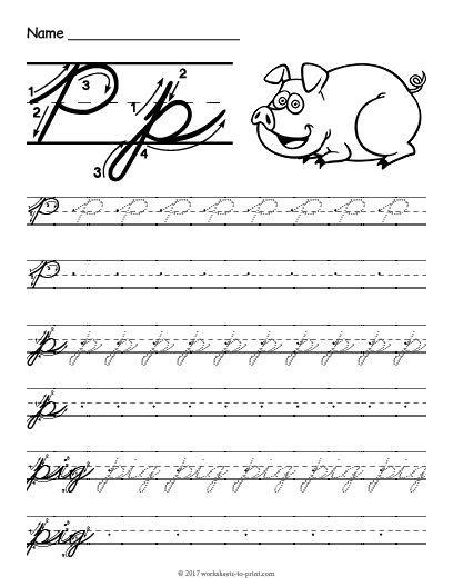 27 best cursive writing worksheets images on pinterest cursive alphabet letters cursive