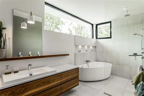 Modern Large Bathroom Ideas by 50 Sleek Modern Master Bathroom Ideas For 2019
